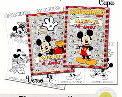 REVISTINHA PARA COLORIR MICKEY 20x14,5
