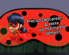 mascara de dormir lady bug