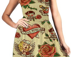 Vestido Tattoos Pin Up 11