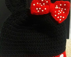 Touca Minnie croche
