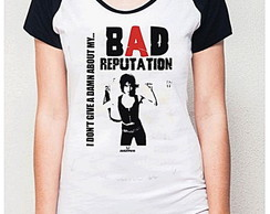 BABY LOOK RAGLAN - BAD REPUTATION