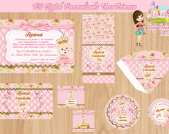Kit Digital Personalizado Ursa Princesa