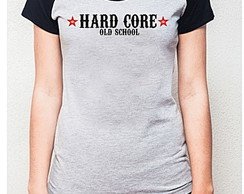 BABY LOOK RAGLAN - HARD CORE