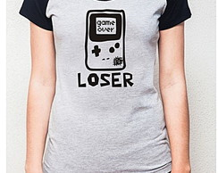 BABY LOOK RAGLAN - GAME OVER