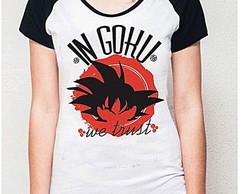 BABY LOOK RAGLAN - IN GOHU