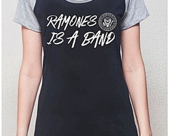 BABY LOOK RAGLAN - RAMONES IS A BAND
