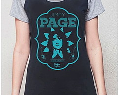 BABY LOOK RAGLAN - JIMMY PAGE