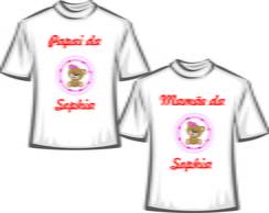 fbe05467ad ... Camisetas personalizadas aniversario Ursinha - NG Mega Store