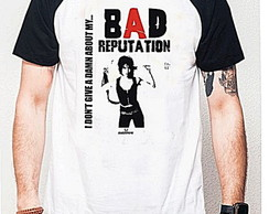 CAMISETA RAGLAN - BAD REPUTATION