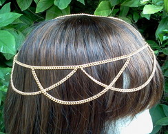 head chain ondinhas correntes