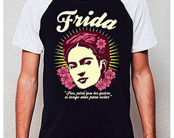 CAMISETA RAGLAN - FRIDA LOVES