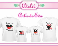 Kit Camiseta Mickey Mouse