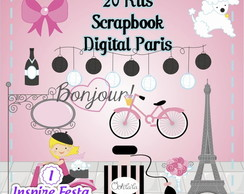 Kits Scrapbook Digital Paris