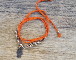 Pulseira Amuleto Orange