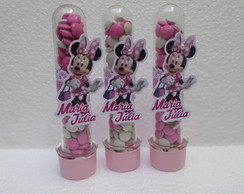 Tubete + Aplique Minnie Rosa
