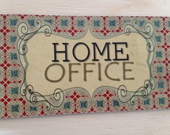 Placa Home office
