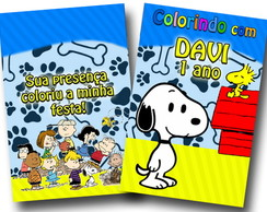 Revista colorir Snoop 14x10