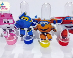 Tubetes Personalizados - Super Wings