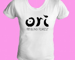 Camiseta babylook Ori and Blind Forest 1