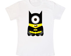 Camiseta Minions Batman