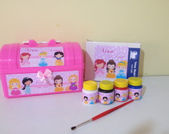 Kit Pintura princesas cuties