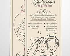 KIT Save the Date+Recado de Mesa (ARTE)