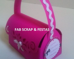 BOLSINHA SCRAP BARBIE PARIS