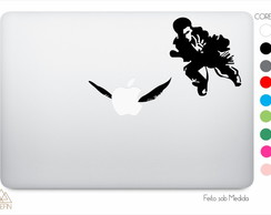 Adesivo Macbook Harry Potter Fly A0052