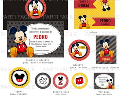 kit Digital festa Mickey Mouse