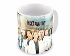 Caneca Grey's Anatomy - Personagens