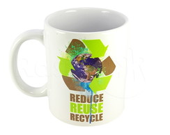 CANECA REDUCE REUSE RECYCLE