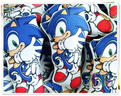 Almofadas Fofas Sonic Video game