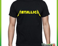 CAMISETA BANDA ROCK METALICA