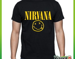 CAMISETA BANDA ROCK NIRVANA