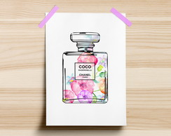 Poster Chanel Floral
