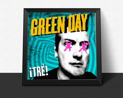 Quadro Green Day ¡Tré!