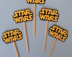 Topper de Doce - Star Wars