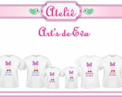 Kit Camiseta Margarida