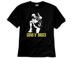 Camiseta de Rock Guns N Roses Axl Rose