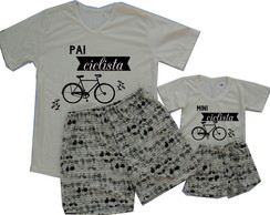 Kit Pijamas Bike
