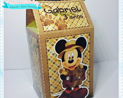 Caixa Milk - Mickey Safari