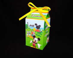 Caixa Milk Casa do Mickey Mouse