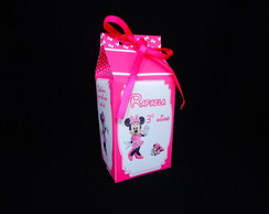 Caixa Milk da Minnie Rosa