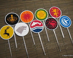 Topper M p/ doces - Game of Thrones