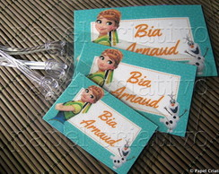 Kit 3 Bagtags - FROZEN FEVER