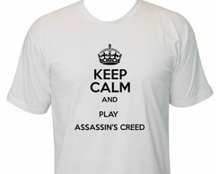 Camiseta Keep Calm Assassins Creed