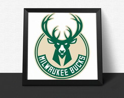 Quadro 'Milwaukee Bucks NBA