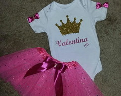 Roupa de Princesa conj Smash the Cake