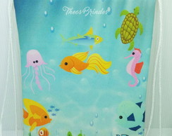 Mochilas 20x28 Fundo do Mar