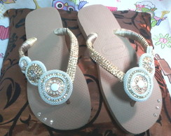 Havaiana Top Rose Gold esfera